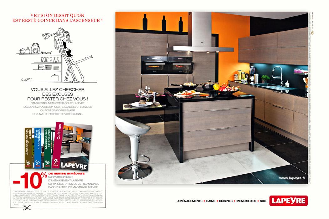 Lapeyre cuisines lapeyre cuisine ytrac eyre et fr d ric for Cuisine ytrac